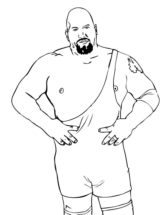 Printable WWE Coloring Pages | Coloring Me
