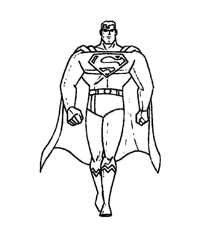 printable superman coloring pages coloring me