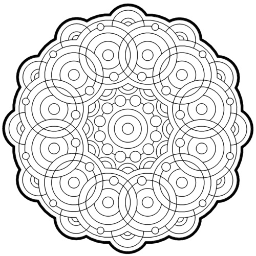Free Printable Geometric Coloring Pages Source Cool Geometric