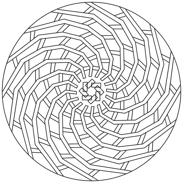 Printable Geometric Coloring Pages Coloring Me