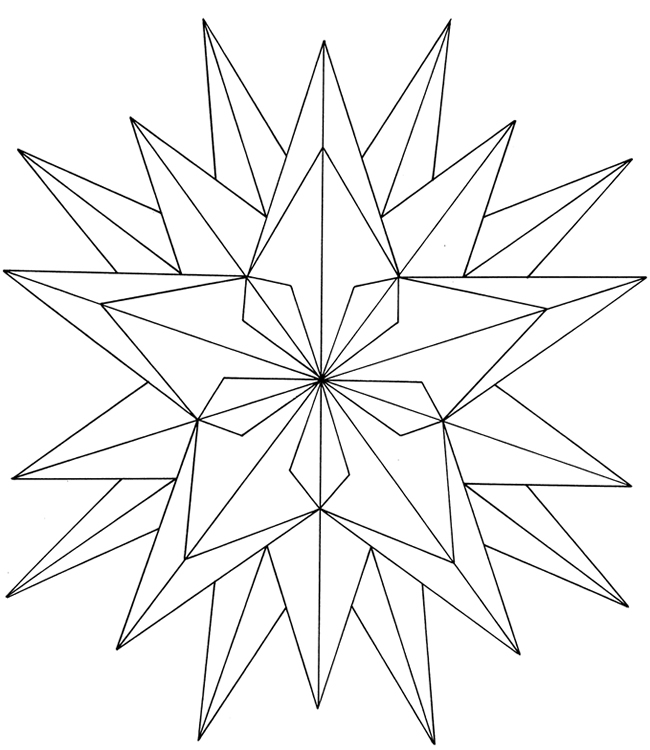 Simple geometric design coloring pages murderthestout for Geometric coloring pages for kids