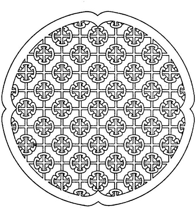 geometric patterns coloring pages - Coloring Pages Patterns Geometric