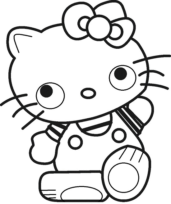 hello kitty mermaid coloring pages hello kitty princess coloring pages - Coloring Pages Kitty Mermaid