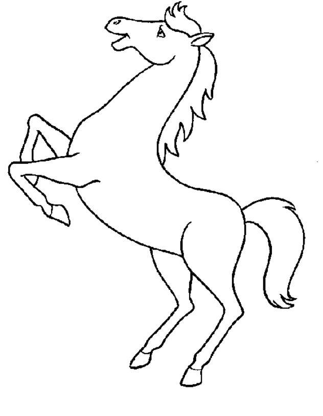 Printable Horse Coloring Pages Coloringme Com