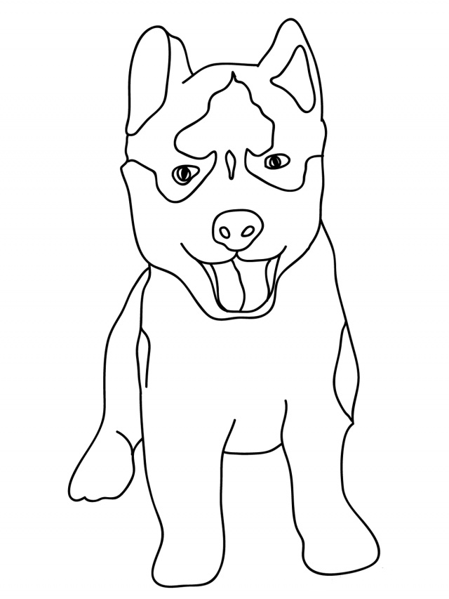 Printable Puppy Coloring Pages | Coloring Me