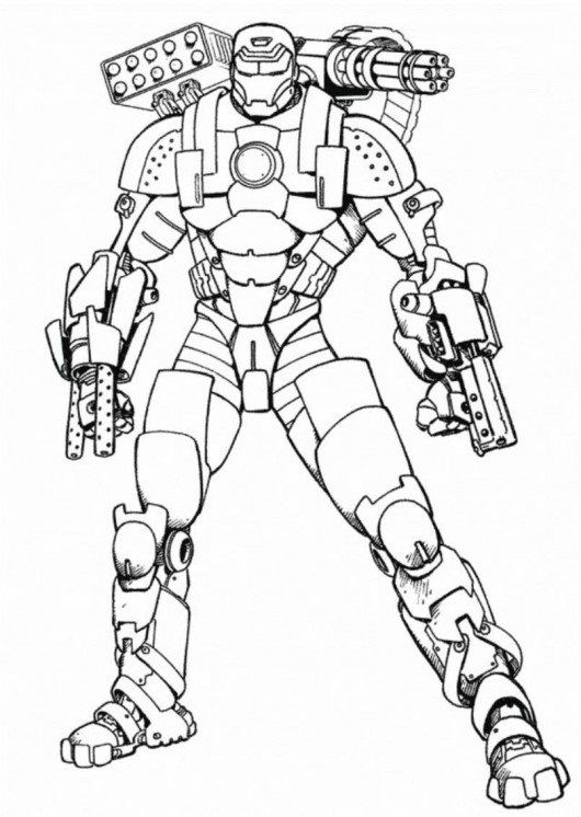 Printable Iron Man Coloring Pages | Coloring Me
