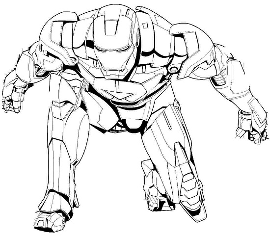 iron man printable coloring pages - Iron Man Coloring Pages Printable