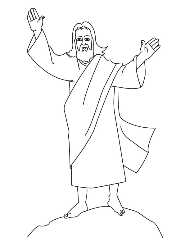 Printable Jesus Coloring Pages | Coloring Me