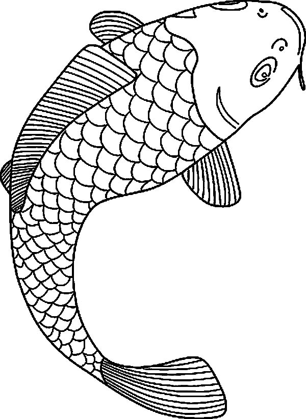 japanese fish coloring pages - photo#19