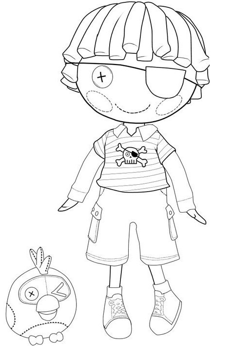 Printable Lalaloopsy Coloring Pages | Coloring Me