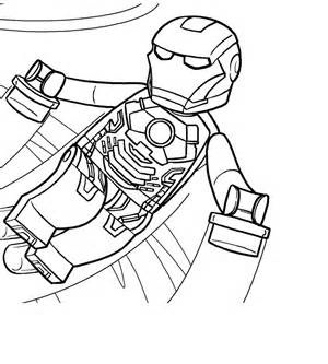 Lego Iron Man Coloring PrintsIronPrintable Coloring Pages Free