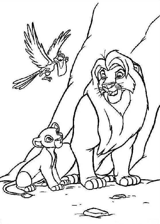 lion king coloring pages printable - Lion King Coloring Book
