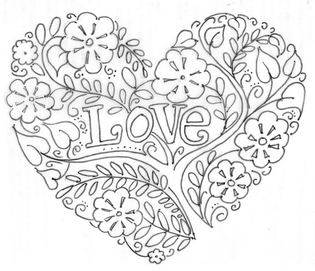 Gay love coloring pages for Love coloring pages printable