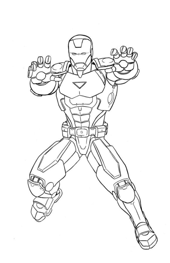 marvel superheroes coloring pages - photo#23