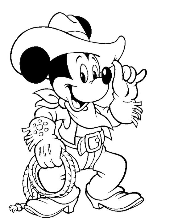 Printable Mickey Mouse Coloring Pages Coloring Me
