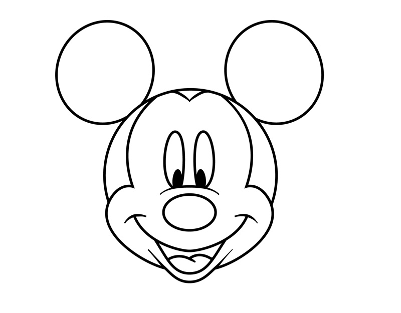mickey mouse coloring sheets - Coloring Pages Mickey Mouse