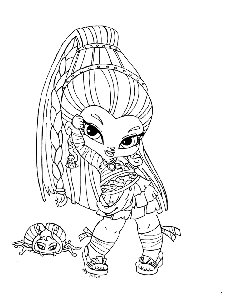 Monster High Baby Coloring Pages | Coloring Me