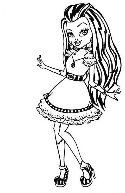 monster high printables pictures