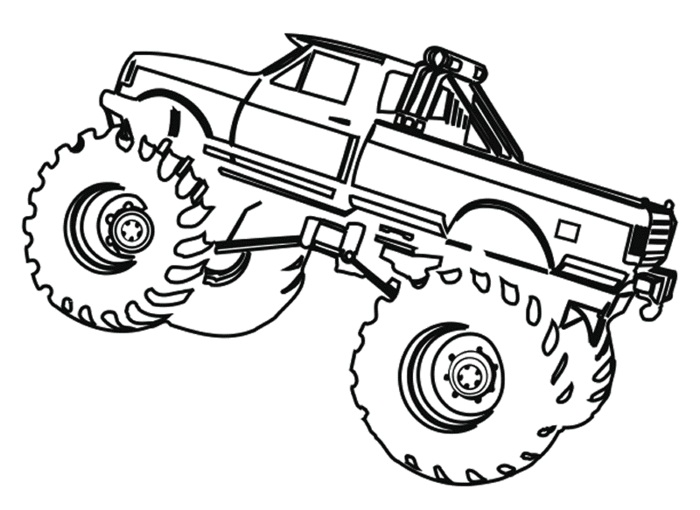 big truck printables coloring pages - photo#33