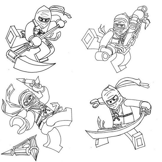 Printable Ninjago Coloring Pages | Coloring Me