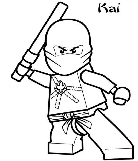 Printable Ninjago Coloring Pages Coloring Me