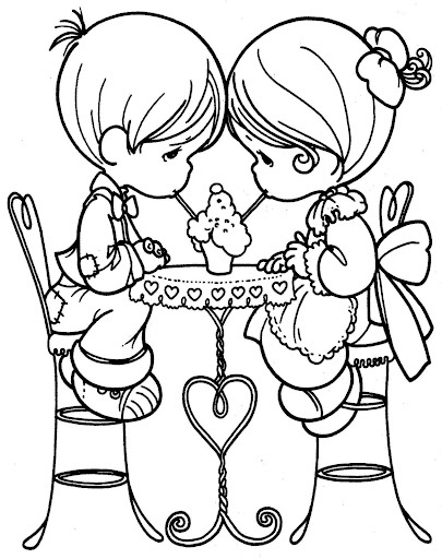 Pritable Precious Moments Coloring Pages | Coloring Me
