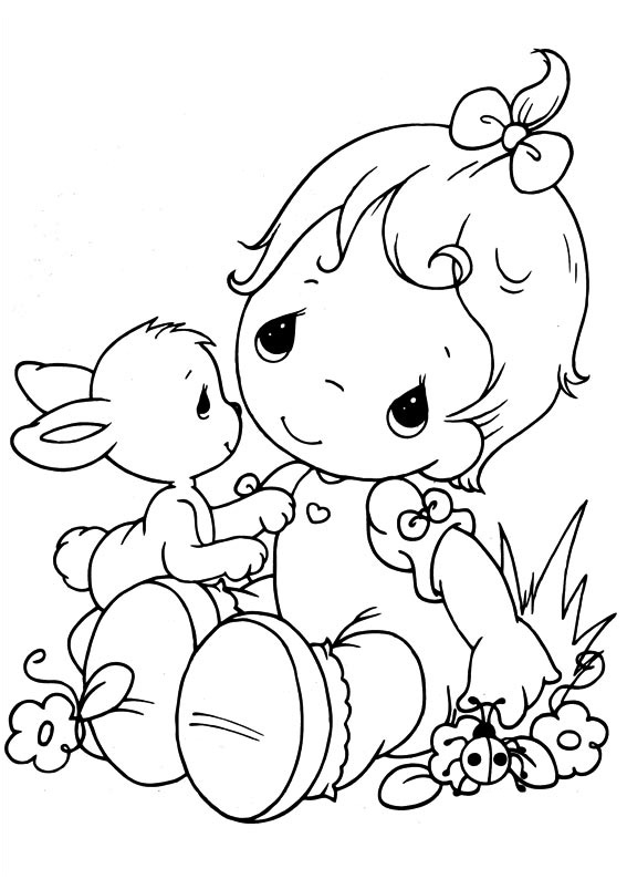 Baby Coloring Sheets Babies Pages