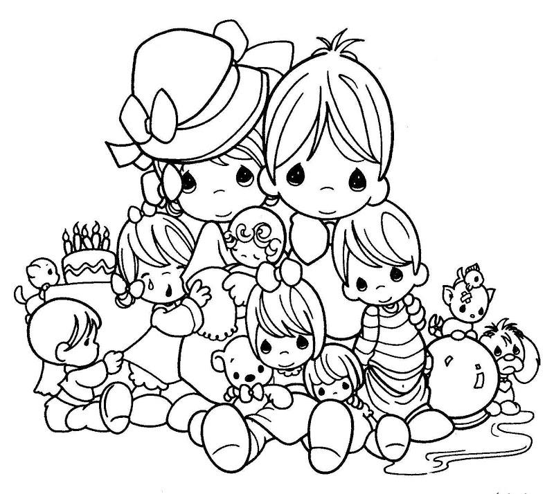 precious moments coloring sheets