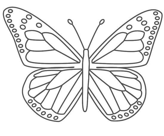 Printable Butterfly Coloring Pages | Coloring Me