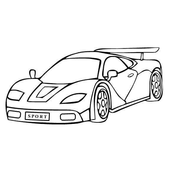 free printable cars coloring pages - photo#23