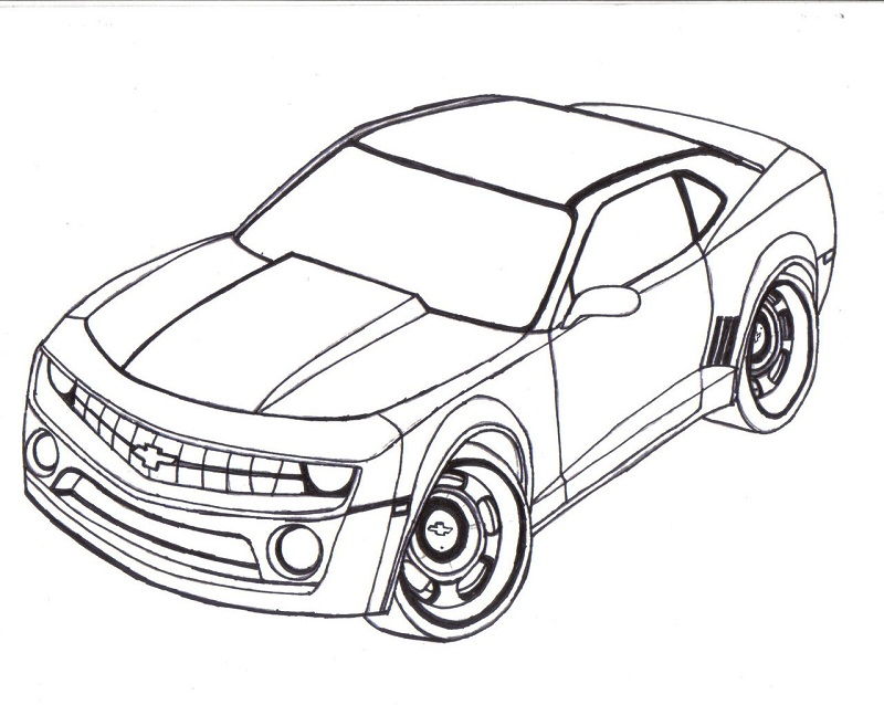 Printable Cars Coloring Pages  Coloring Me