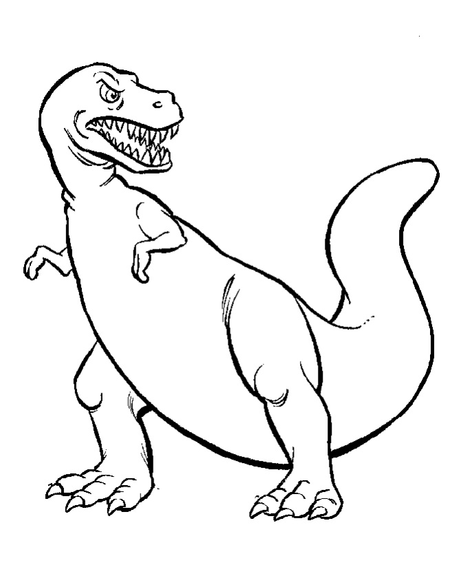 Printable Dinosaur Coloring Pages | ColoringMe.com