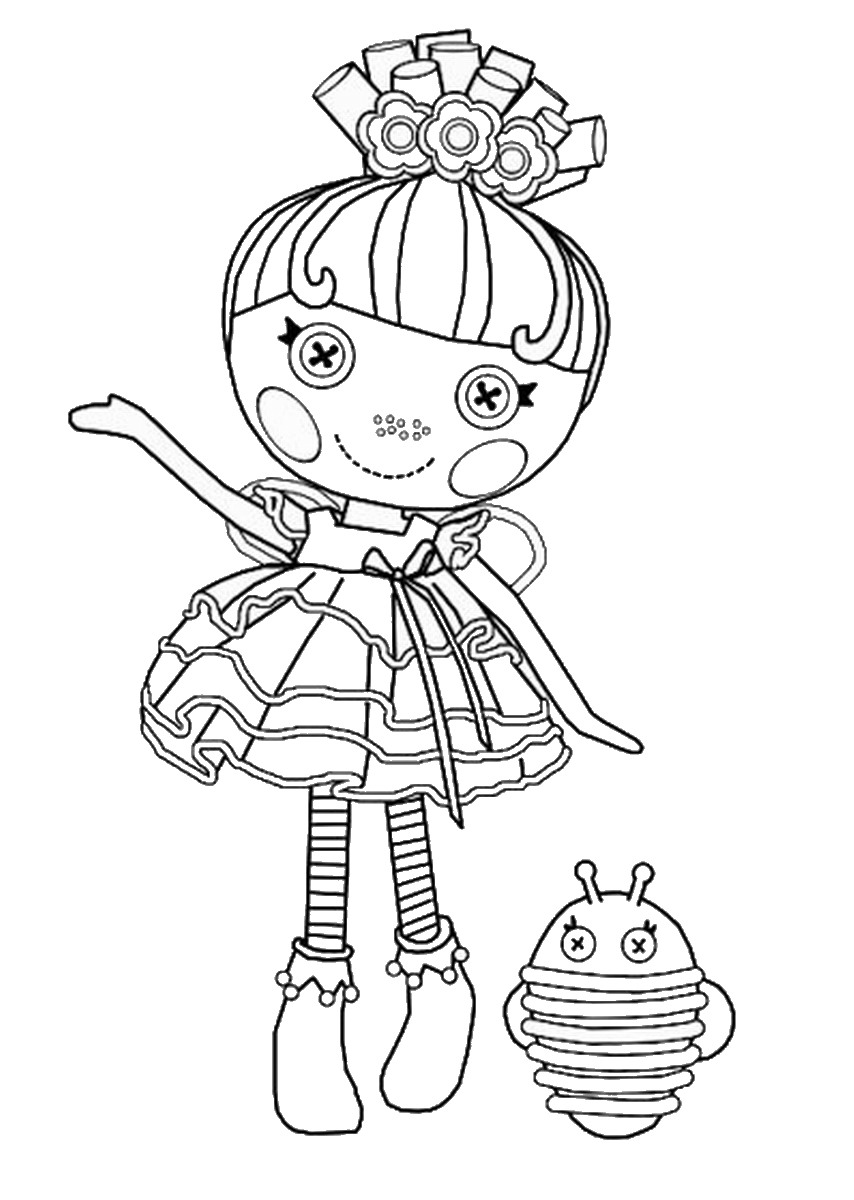 🎨 Lalaloopsy Doll Coloring Pages - Kizi Coloring Pages | 1200x854