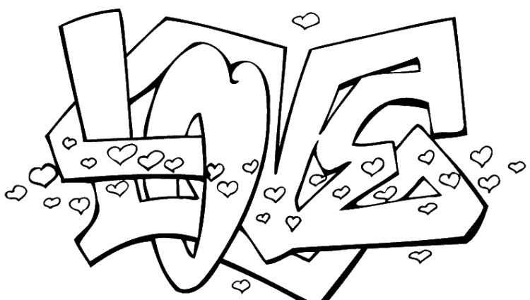 printable coloring pages love coloring pages