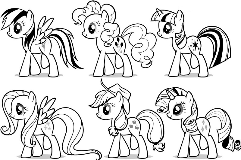 Printable My Little Pony Coloring Pages Coloring Me Printable Coloring Pages My Pony