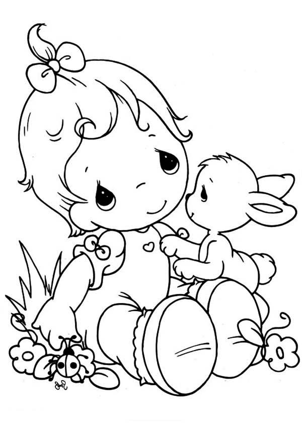 prcious moments coloring pages - photo#25