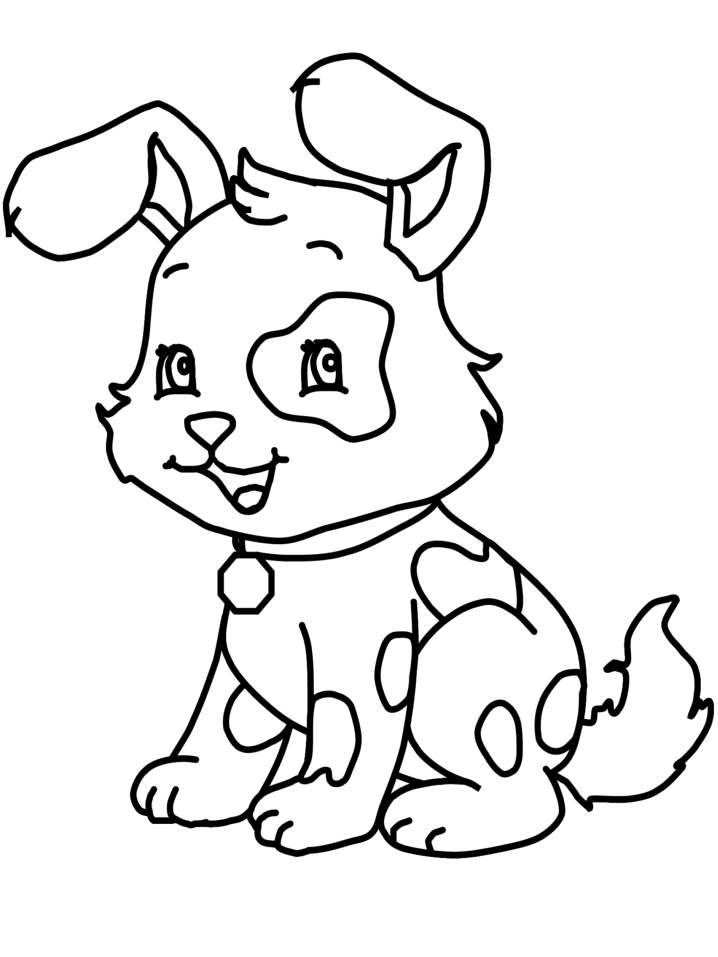 Printable Puppy Coloring Pages Coloring Me - cute puppy coloring pages printable