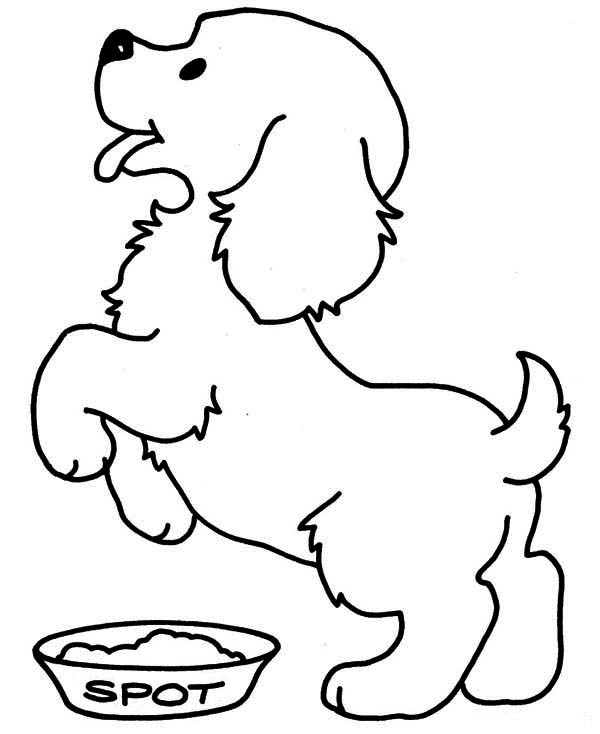 puppy coloring pages com - photo#12