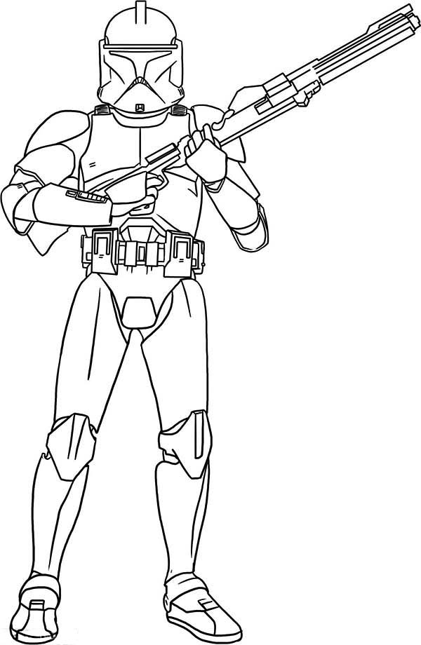 coloring pages and clone wars - photo#28