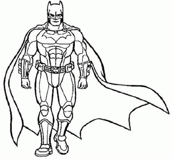 printable super hero coloring pages - photo#8