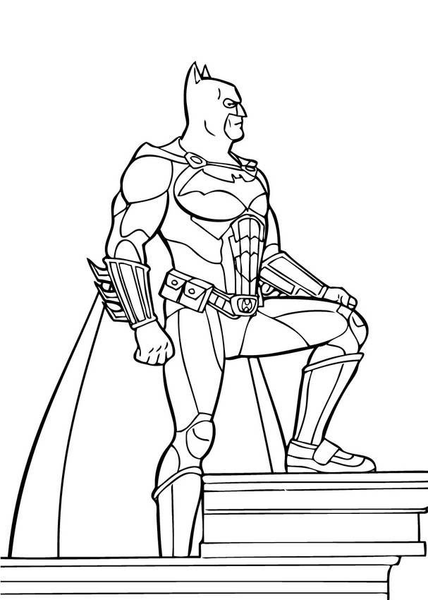 child superhero coloring pages - photo#22