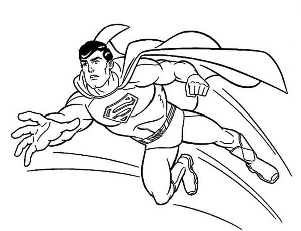 Printable Superman Coloring Pages Me