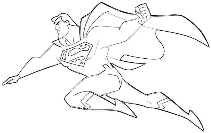Superman Coloring Pages New Superman Coloring Pages Print  Coloring Me