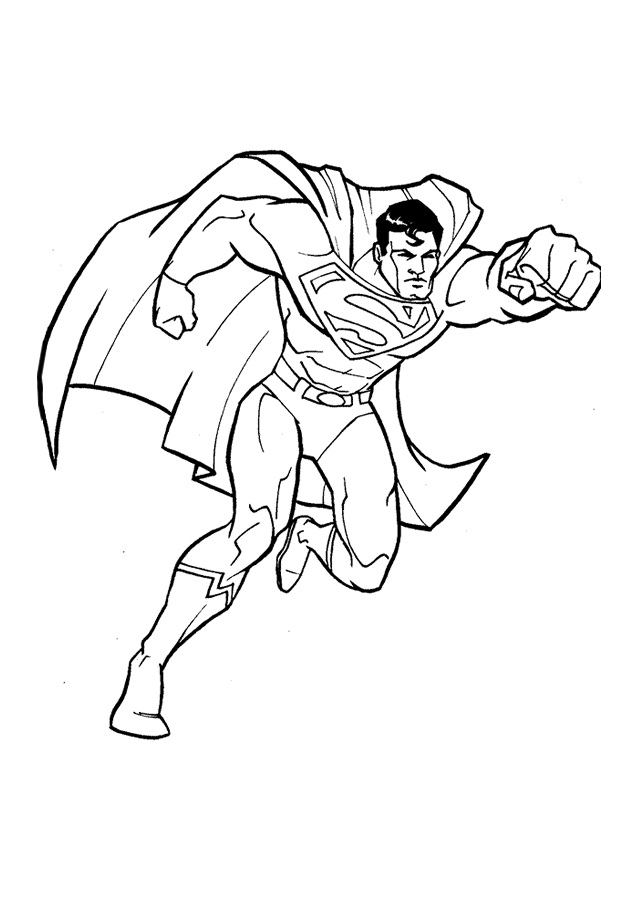printable superman coloring pages | coloring me - Printable Coloring Pages Superman