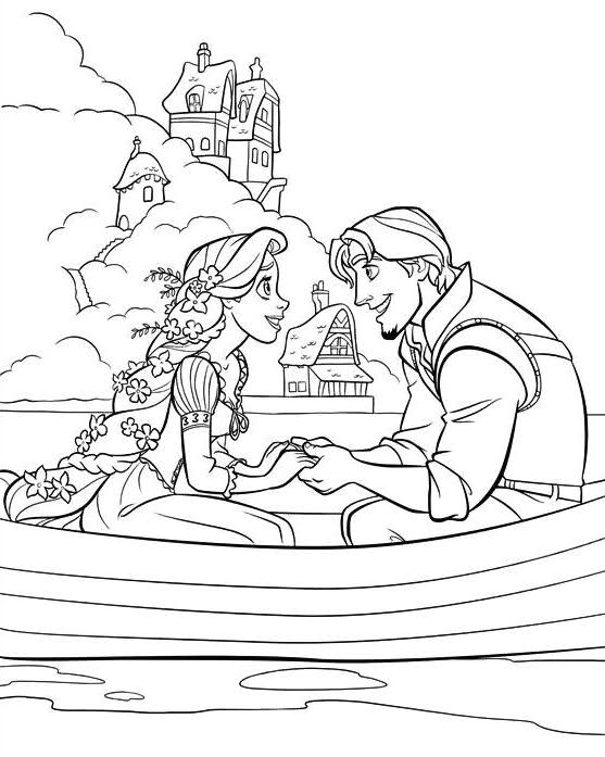 tangled coloring sheets