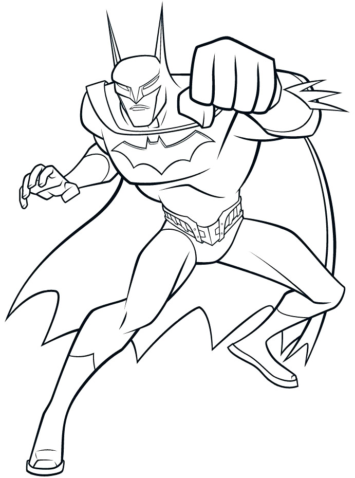batmans coloring pages - photo#21