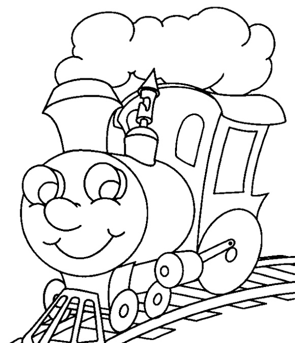 Printable Thomas the Train Coloring Pages | ColoringMe.com