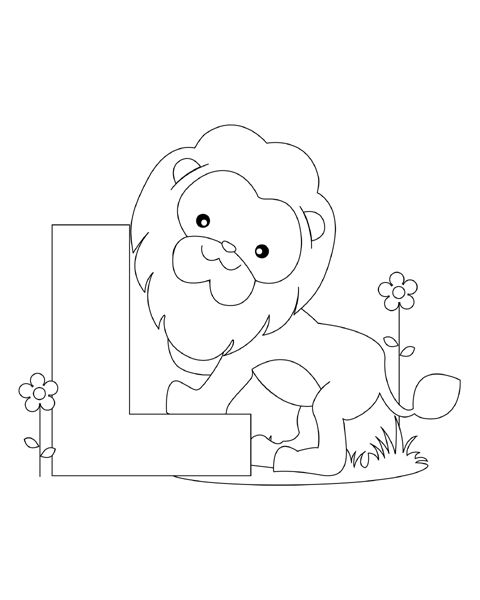 alphabet coloring sheets - Printable Letter Coloring Pages
