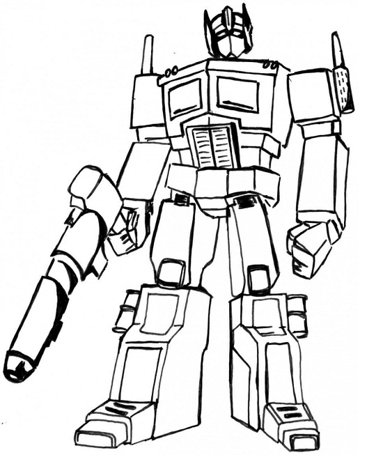Printable Transformers Coloring Pages ColoringMe.com