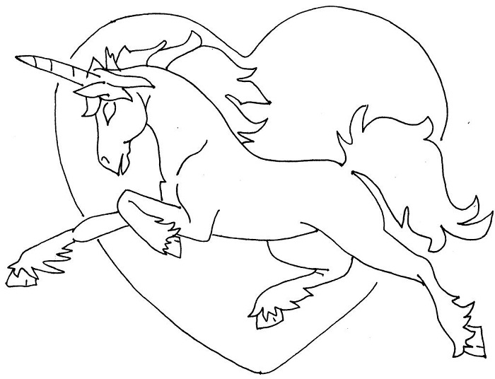 unicorn coloring pages for kids - Coloring Pages Unicorn
